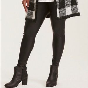 NWT Torrid ((Size 4)) Faux Leather Leggings